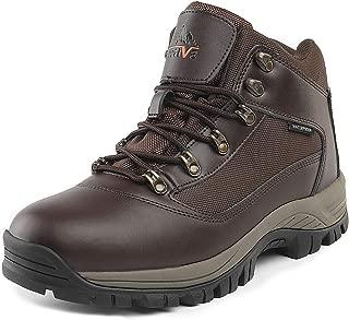 Men's Waterproof Hiking Boots Mid Outdoor Backpacking Trekking Trails Lightweight Shoes