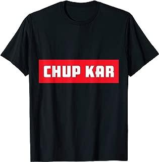 Best chup kar t shirt Reviews