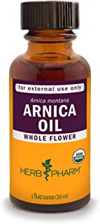 Herb Pharm Certified Organic Arnica Oil - 1 Ounce