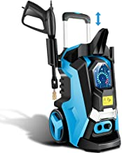 TEANDE 3800 PSI Smart Pressure Washer Electric Pressure Power Washer 2.8 GPM 1800W High Powerful Cleaner Machine with Touc...