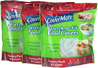 Best stretch to fit food covers Reviews