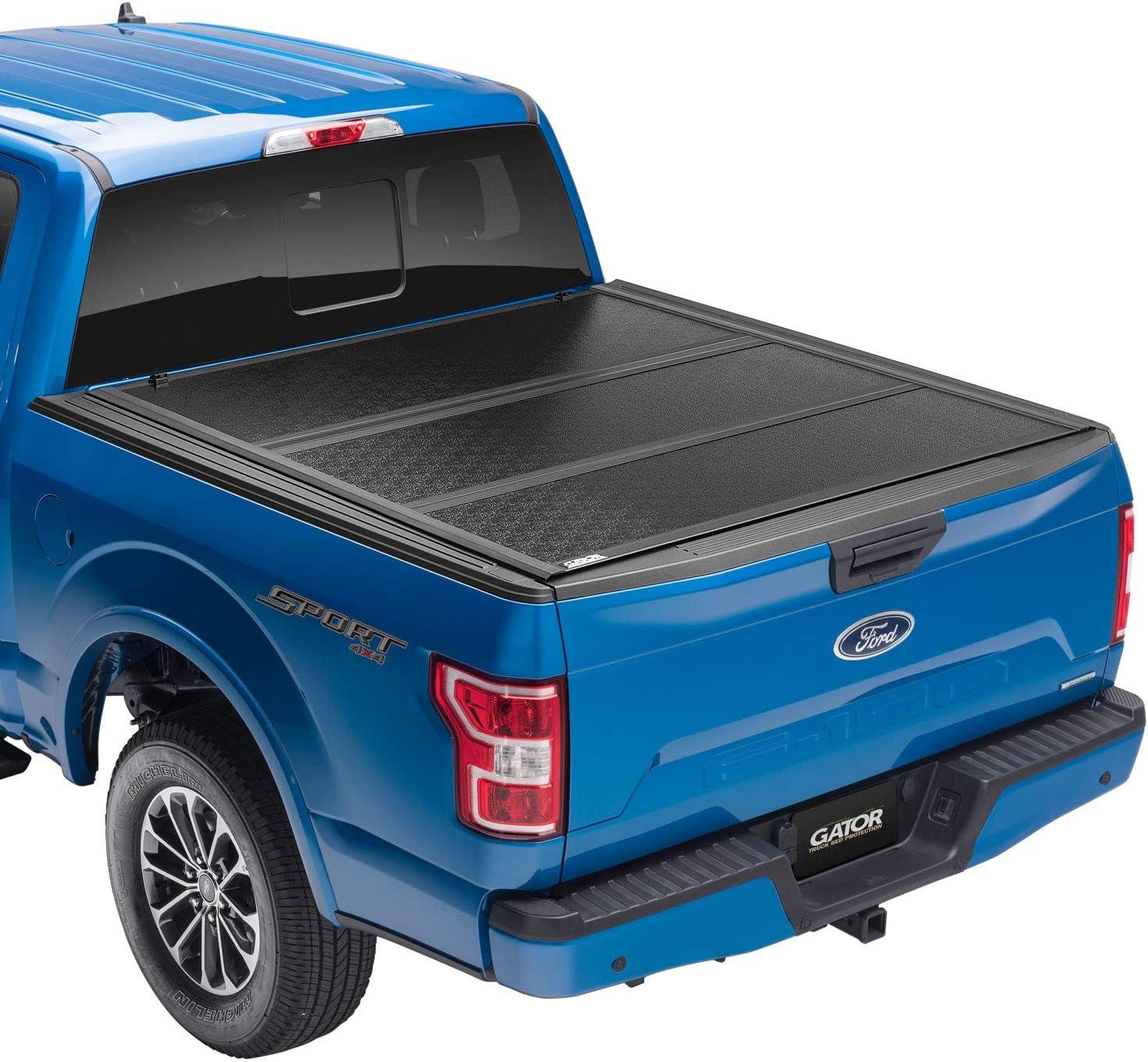 Gator EFX Hard Tri-Fold Truck Bed Tonneau Cover | GC24029 | Fits 2021 Ford F-150 5' 7