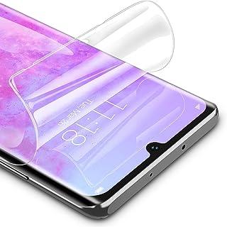 RIWNNI [3 Pezzi Pellicola Protettiva per Huawei P30 PRO, Ultra Sottile Morbido TPU Pellicola Copertura Completa Protezione...