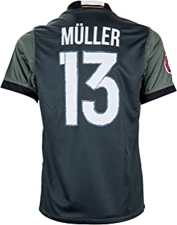 Germany Euro 2016 #13 Thomas Müller Away Soccer Fan Jersey - Adult Sizes