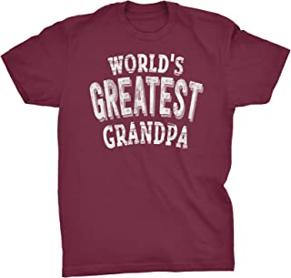 World's Greatest Grandpa - Funny Mens T-Shirt