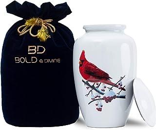 BOLD & DIVINE Adult Cremation Urn | Cremation Urn for Human Ashes Adult Urns for Ashes Cremation Urns for Adult Ashes (Lar...