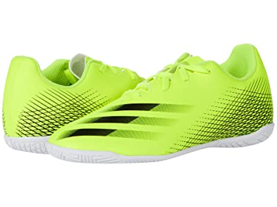 adidas Kids X Ghosted.4 IN J Soccer (Little Kid/Big Kid)