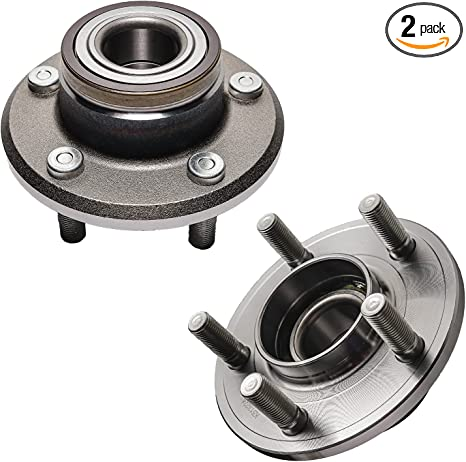 2 New MOOG Premium Front Wheel Hub Bearing Assembly Pair//Set For Left and Right