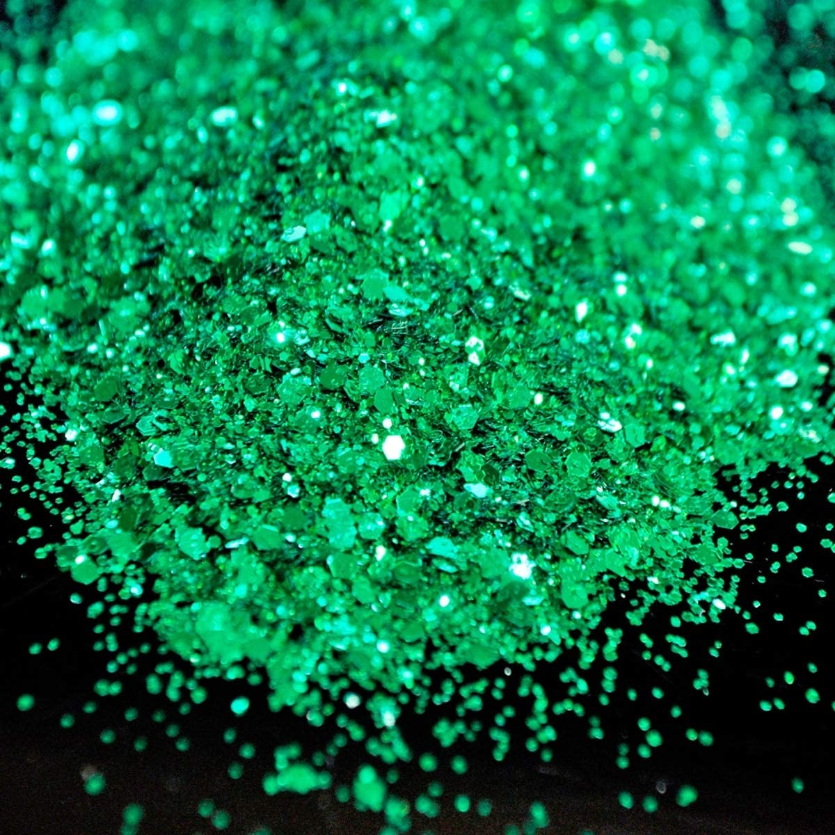Gabcus Green New products, world's highest quality popular! Mix Nail Glitter Hexagon Luxury goods 3D Sparkly Art Shinny