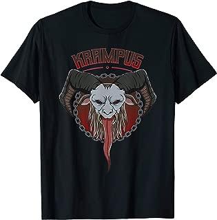 Krampus Horned Goat Demon Christmas Xmas Gift T-Shirt