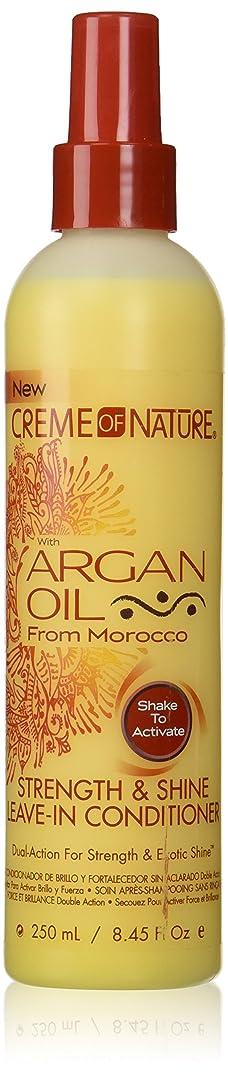 ひばり狼アカデミーCreme of Nature Argan Oil Conditioner Leave-In 250 ml (並行輸入品)