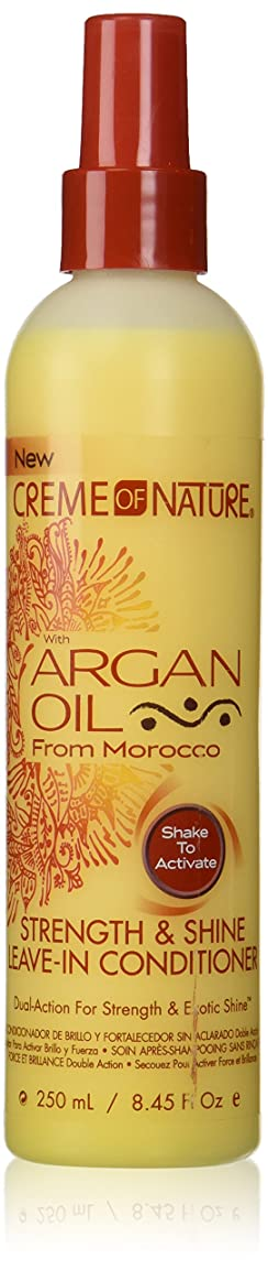 おそらく円周非行Creme of Nature Argan Oil Conditioner Leave-In 250 ml (並行輸入品)