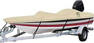 Classic Accessories DryGuard Heavy Duty Waterproof Boat Cover For Bass Boats 16' - 18.5' L Up to 98 W