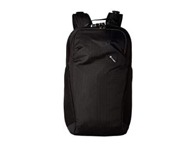 Pacsafe Vibe 20 Anti-Theft 20L Backpack (Jet Black) Backpack Bags