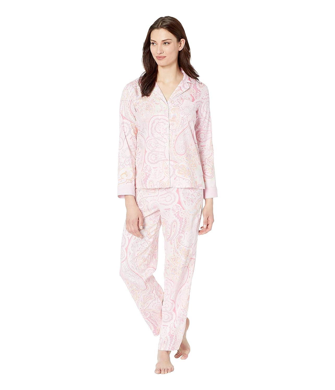 [LAUREN Ralph Lauren(ローレンラルフローレン)] レディースパジャマ?ナイトウェア Pointed Notch Collar Pajama Set [並行輸入品]