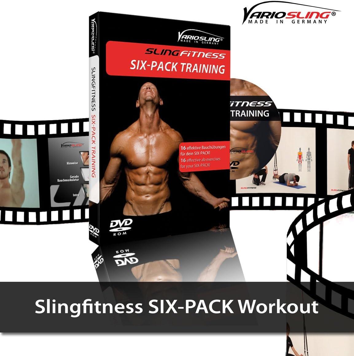 Variosling DVD SlingFitness - Instrucciones con ejercicios efectivos de todo el cuerpo para el entrenamiento en suspensión en DVD Vol.1, 2, 2.2, 3, ...