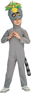 Nickelodeon The Penguins Of Madagascar Costume, King Julien Costume-Medium