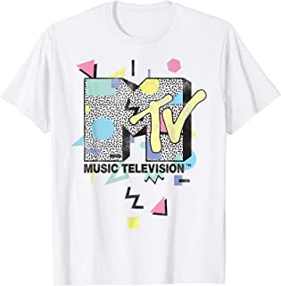 Retro Shape Design Logo Graphic T-Shirt