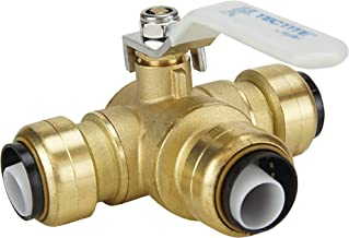 Best apollo 3 way brass valve Reviews