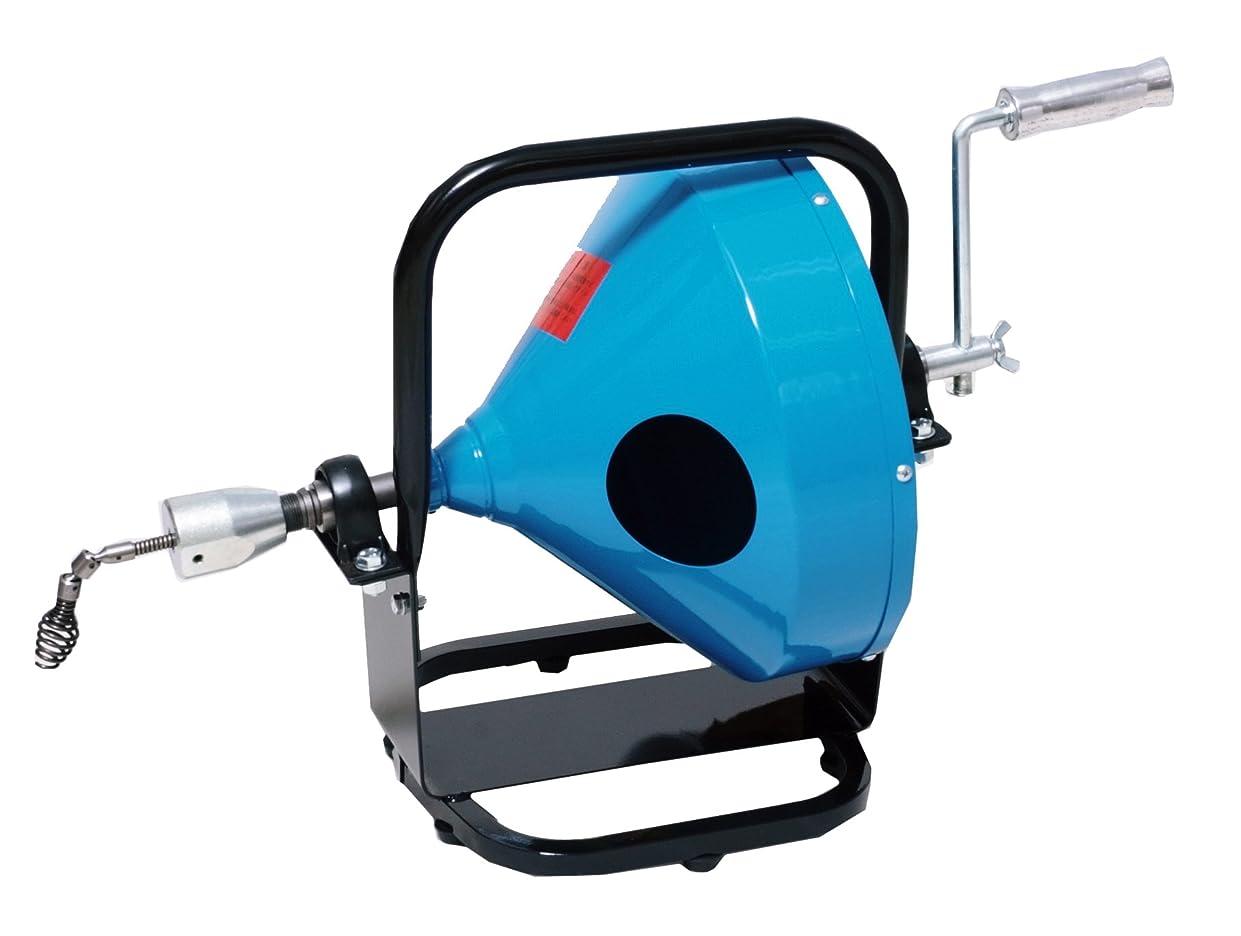 溶接アカデミー音楽カンツール ワイヤー式排水管清掃器 フレキシロッダーFN+ワイヤー8㎜×20m FN-6