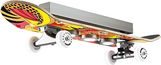 Evotec Easy Cruiser LED-Skateboard Plafondlamp, Meerkleurig