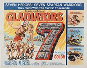 Movie Poster Giclee Print On Canvas-Film Poster Reproduction Wall Decor(Gladiators 7 2) #XFB