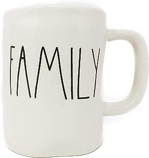Rae Dunn by Magenta FAMILY Ceramic LL Coffee Mug