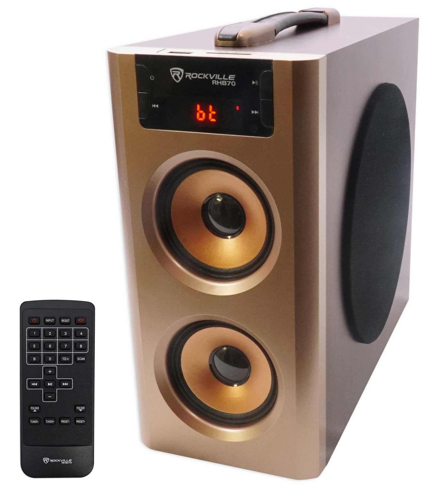 Rockville RHB70 Theater Compact Bluetooth