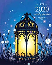 2020 Weekly Planner: Calendar Schedule Organizer Appointment Journal Notebook and Action day With Inspirational Quotes  Black Blue magic fairies night. (Weekly & Monthly Planner 2020)