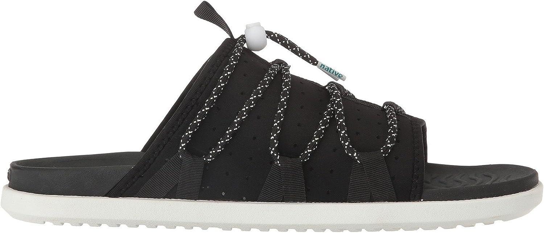 Native schuhe Men's Palmer Slide Sandals schwarz in Größe 44 44 44 184c3b