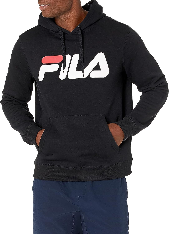Fila Men's Classic Fleece Excellent Milwaukee Mall Speed Hoodie Logo