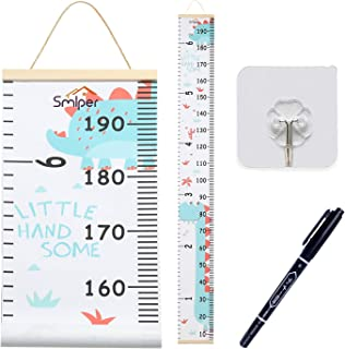 Smlper Growth Chart for Kids,Roll-up Height Chart for...