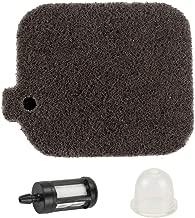 Trustsheer 42291201800 Air Filter Cleaner + Fuel Filter Primer Bulb for Stihl BG46 BG45 BG65 BG85 BR45C SH55 SH85 Blower