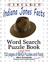Circle It, Indiana Jones Facts, Word Search, Puzzle Book