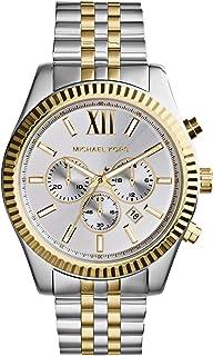 مايكل كورس ساعة رسمية رجال انالوج بعقارب ستانلس ستيل - MK8344