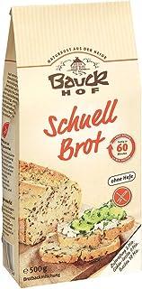 Bauckhof Schnellbrot-Backmischung, glutenfrei 500 g - Bio
