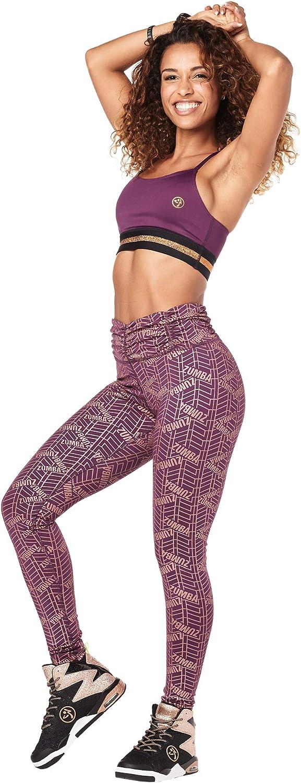 Zumba Athlétiques Pantalon Taille Haute Femme Faire des Exercices Sport Elastiques Leggings Plum Glitters