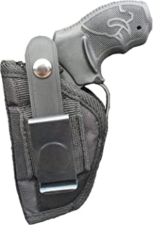 Nylon Belt or Clip on Gun Holster Fits Taurus 85, 405, 415, 450, 455, 605, 650 CIA, 651 Protector, 850 CIA, 851, 905 (5 Shot)