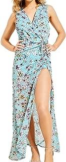 GUESS Women's Sleeveless Nadira Maxi Dress