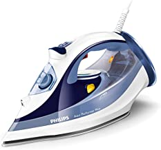 Philips Perfect Care Steam Iron, Blue - GC4517, Blue
