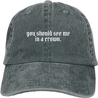 Adjustable Baseball Cap Billie-EIlish-You Should-See-Me-in-a-Crown Unisex Cowboy Hats