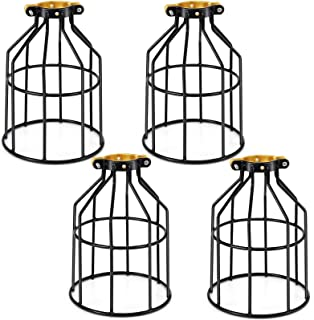 Kohree Metal Bulb Guard Lamp Cage, for Pendant Light, Lamp Holder, Ceiling Fan Light Bulb..