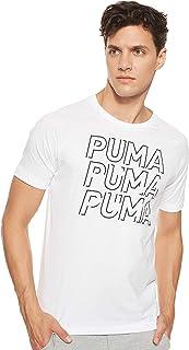 تي شيرت رجالي بشعار رياضي عصري من بوما
