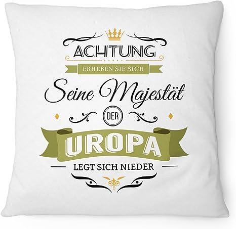 Majestät Uroma Tasse bedruckt Spruch Geburtstag Geschenk Idee Geburt Baby Lustig
