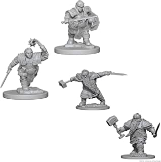 Dungeons & Dragons Nolzur's Marvelous Unpainted Miniatures Bundle: Dwarf Male Fighter & Dwarf Female Fighter