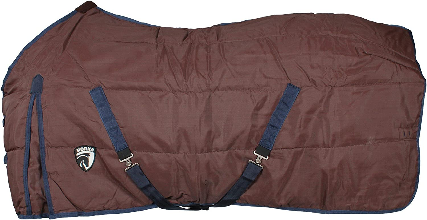 Horka 1200G Stable Cotton Lining Pony Horse Heavyweight Rug Horse Cover