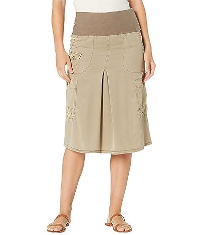 XCVI Halsey Cargo Skirt in Soft Twill