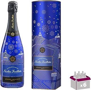 Champagner Nicolas Feuillatte - Réserve exklusive Brut Limited EditionFrench Impertinence - In 6  75cl Geschenkbox