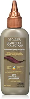 Clairol Professional Semi Permanent Hair Color, Burgundy Brown, 3 Ounce