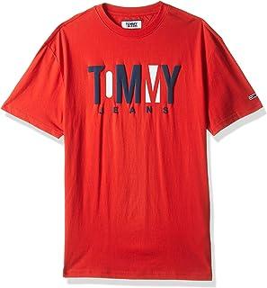 Tommy Jeans Men's Tjm Contrast Logo T-Shirt